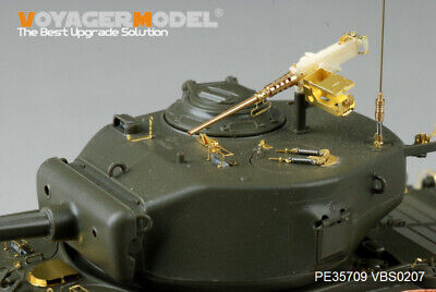 Voyager 1//35 PE35811 WWII US M4A3E8 Sherman Fenders//Track Cover For TAMIYA