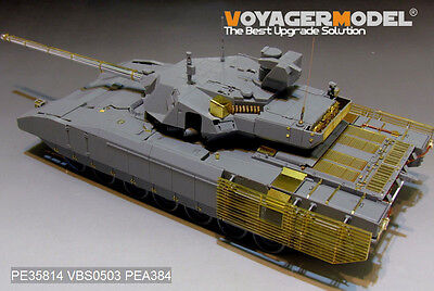 48PCES Voyager PEA384 1//35 Russian T-14 Armata MBT smoke discharger