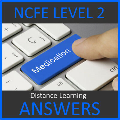 Ncfe Level 2 Certificate In Understanding Medication Answers Help 2