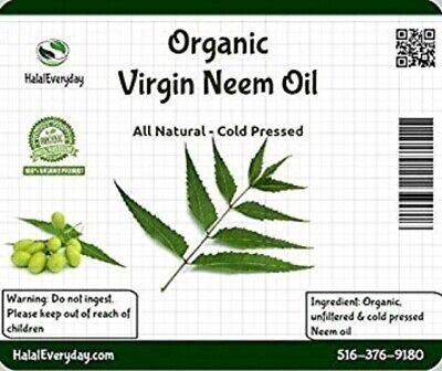 Neem Oil - PREMIUM QUALITY Organic Virgin 100% Pure Raw Unrefined COLD PRESSED 2