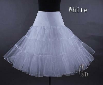 "AU SELLER 26"" Retro 50s Underskirt Rockabilly Bridal Petticoat Dance Tutu da018 7"