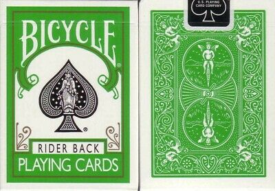 Bicycle Rider Back Playing Card 4 Deck Color Collection - Poker Size - USPCC 3
