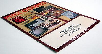 Ancienne Circulaire De 1983 Des Meubles Gest-Accor, 12 Pages 3