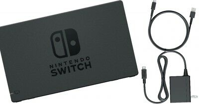 Genuine Nintendo Switch Docking Station + AC Adapter Power Cable Canadian Seller 5