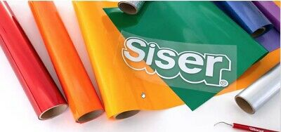 "SISER EASYWEED HTV -Heat Transfer Vinyl 15"" x 1, 3, 5 yds for T-SHIRTS / Textile 9"