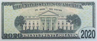 100 BILLS - Donald Trump fake money 2020 Dollar Bills 3