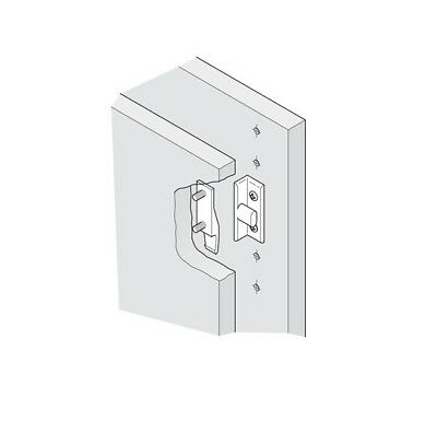 Keku Drop On/Hook On Push In Fittings Press Fit Panel Clips Plinth Fasteners 2