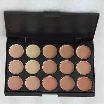 15 colors foundation cream Concealer palette contour face makeup highlighter S2 2