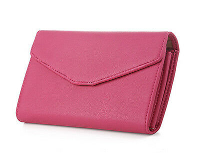 Lady Women Clutch Long Purse Leather Wallet Card Holder Handbag Phone Bag 9