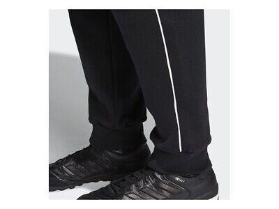 Adidas Core 18 Mens Fleece Tracksuit Jogging Bottoms Joggers Black Navy Grey 5