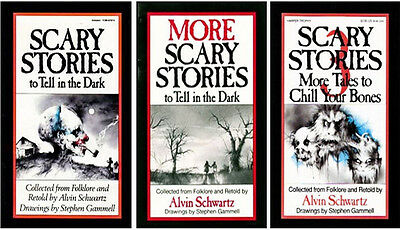 ... Scary Stories To Tell In The Dark Book Set Volume 1,2,3,