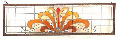 Large Vintage Stained Glass Window (1512)NJ 2