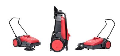 Nilfisk Viper PS480 Handkehrmaschine manuelle Kehrmaschine baugleich SW250 4