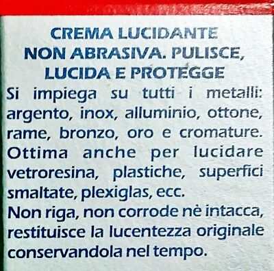 Iosso Crema Lucidante Multiuso x Fiberglass,Metalli,Vetroresina,Plexiglass,50ml. 3