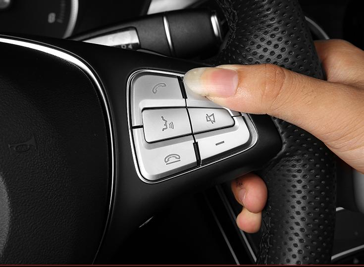 Shift Knob/&wiper Blade Trim For Mercedes Benz Metris Vito V-Class W447 2014-2017