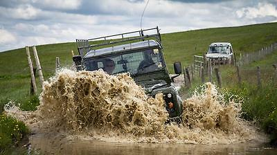 September 2019 Land Rover Driving Experience any Saturday. 4