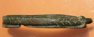 Ancient Roman Bronze Beautiful Decoration.very Rare!! 8