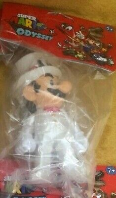 "Super Mario 5"" Action Figure - Super Mario Odyssey Wedding Tuxedo - NEW & SEALED 2"