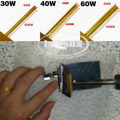 UV Glue Remover Cleaner T-Tip Soldering Iron+5pcs Blades for Mobile Touch Screen 4