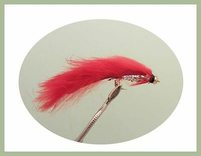 Size 10 Booby Trout Fishing flies For Fly Fishing 12 Pack Mixed Colours