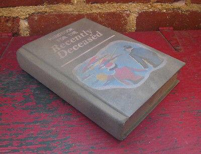 BEETLEJUICE HANDBOOK FOR THE RECENTLY DECEASED PROP 1:1 movie book replica 3