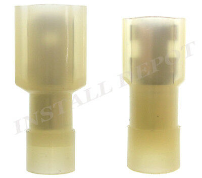 """Yellow Solderless Quick Disconnect Male-Female 12-10 GAUGE Tab Size 0.25/"""""""