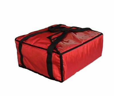 """PIZZA DELIVERY BAG- EXTRA WARM- FULLY INSULATED -  L18"""" x W18"""" x H8"""" - PACK OF 5 4"""