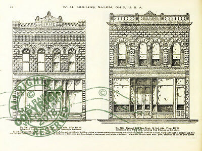 Mullins 1897 Architectural Metal Work CATALOG store fronts ornament grill vanes 6