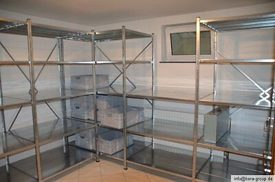 metall stahl werkstatt garage keller lager fachboden schwerlast steck regal eur 119 99. Black Bedroom Furniture Sets. Home Design Ideas