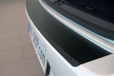 Ladekantenschutz für MERCEDES GLC X253 Schutzfolie 3D Carbon Schwarz 160µm