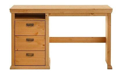 Schreibtisch Kiefernholz Gelaugt Geolt Tisch Burotisch Schrank Neu