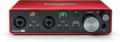FOCUSRITE Scarlett 2i2 3rd Gen Scheda Interfaccia Audio MIDI USB 2in / 2out 2