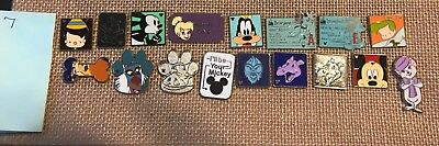 DISNEY PIN Pick any amount 10,20,30,40,50,60,70,80,90,100,200 Each lot = 10 pins 2