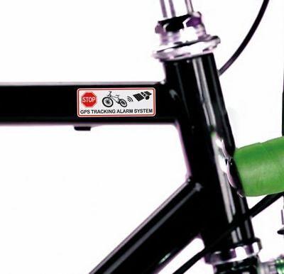 Gps Aufkleber Fahrrad Diebstahlschutz Tracking Gps Alarm Tracker Warnaufkleber