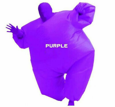 Inflatable Fancy Chub Fat Masked Suit Dress - Blow Up Christmas Party Costume 4