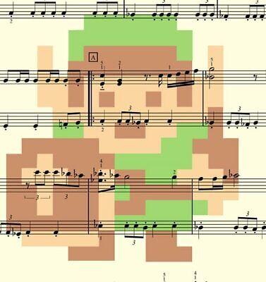 THE LEGEND OF Zelda Music Gamer 8-bit Art 11 x 17 High Quality Poster