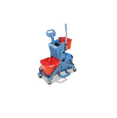 Numatic Schwenkbarer 5-Liter Eimer Grau/Blau für Doppelfahreimer MidMop ProCar 2