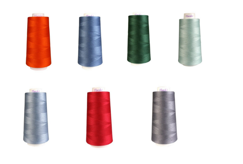 A/&E Maxi Lock Stretch Textured Nylon Natural Serger Thread  MWN-32599