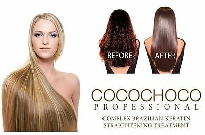 COCOCHOCO BRAZILIAN KERATIN TREATMENT BLOW DRY HAIR STRAIGHTENING 100ML SET 50x2