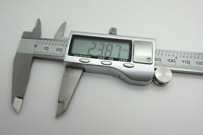 Stainless Steel Electronic Digital LCD Vernier Caliper Micrometer New 150mm 6'' 2