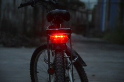 FOXEYE BIKE CYCLE BICYCLE REAR TAIL LIGHT LED LINETEC FOR LUGGAGE CARRIER RACK