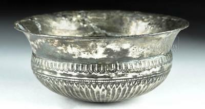 Greek Achaemenid Silver Libation Bowl - 127.4 grams Lot 78E