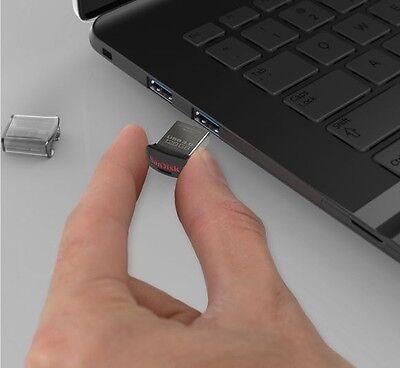 USB Drive 32GB 64GB 128GB 16GB SanDisk Ultra Fit  3.1 Flash Memory Stick SDCZ430 3