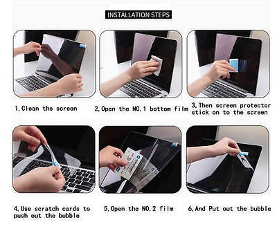 """4PCS PACK 13/"""" Anti Glare BlueRay Screen Protector For Acer R7-371T V3-372"""