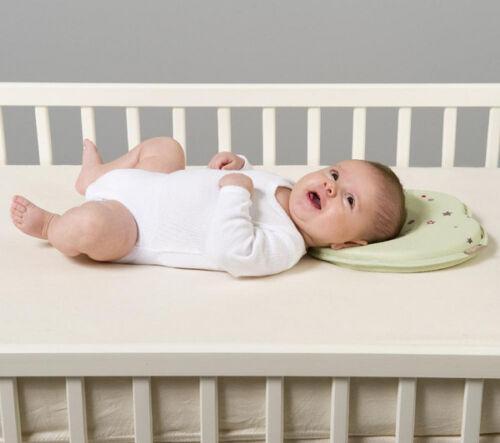 Baby Newborn Infant Pillow Memory Foam Positioner Prevent Flat Head Anti Roll US 5
