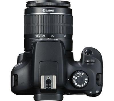 Canon EOS 4000 D DSLR-Kamera und EF-S 18-55mm f/3.5-5.6 III Objektiv uns IT*1 2