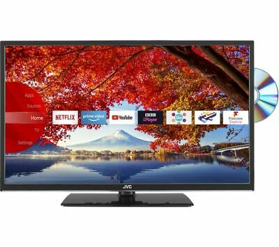 "JVC LT-32C695 32"" Smart LED TV with Built-in DVD Player *NEW APPS* *HD 720p* 3"