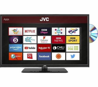 "JVC LT-32C695 32"" Smart LED TV with Built-in DVD Player *NEW APPS* *HD 720p* 4"
