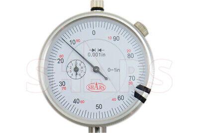 "R 0-22/"" X .001/"" Dial Indicator Depth Gauge Set Hardened HFS"