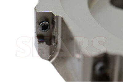 """SHARS 5/"""" 90° INDEXABLE FACE MILL CUTTER USE APMT APKT 33 NEW $514.00 OFF"""